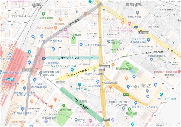 ※画像は「Googleマップ」をベースにルートが作成